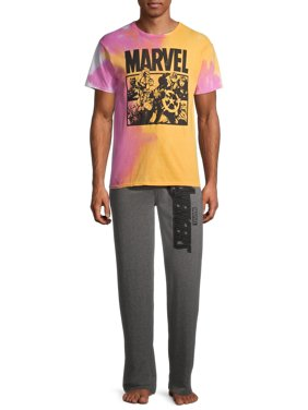 Marvel Men's Tie Dye Lounge Set
