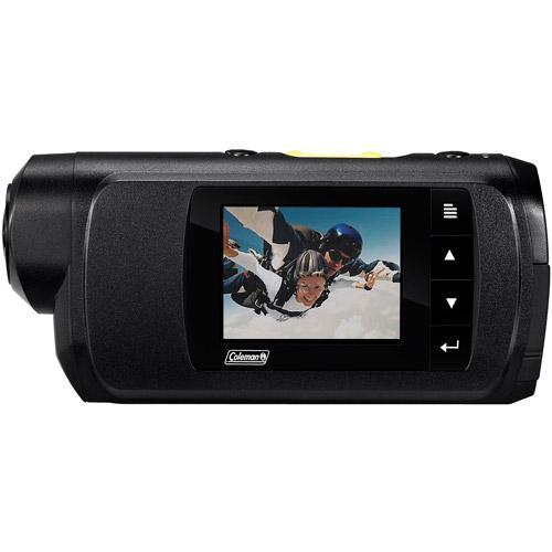 COLEMAN CX7WP 8.0 Megapixel Conquest Ultra 1080p Sports & Action Camera Kit