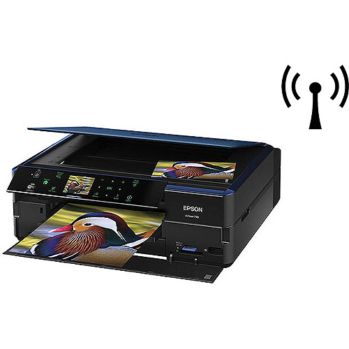 Epson Artisan 730 Wireless All-in-One Color Inkjet Printer, Copier, Scanner (iOS Tablet Smartphone AirPrint... by Epson