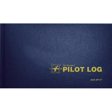 The Standard Pilot Log (Navy Blue) : Asa-Sp-57 (Best Electronic Pilot Logbook)