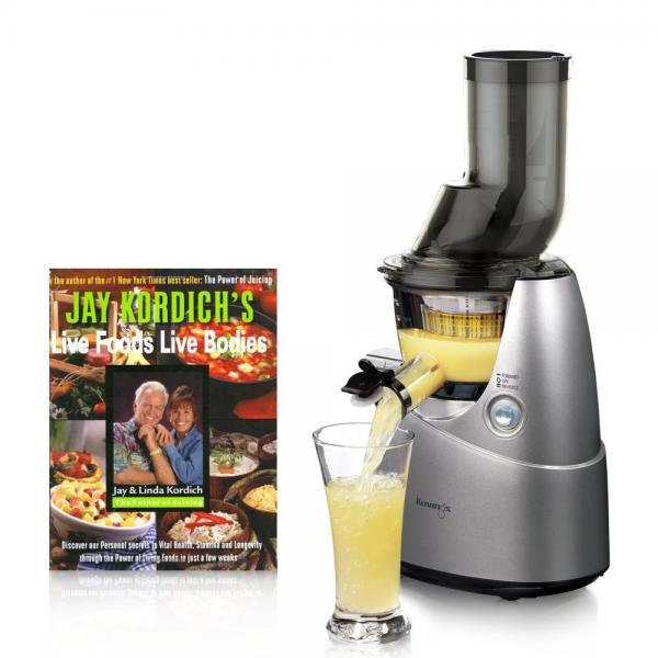 Kuvings Whole Slow Juicer Silver B6000S with Sortbet Make...