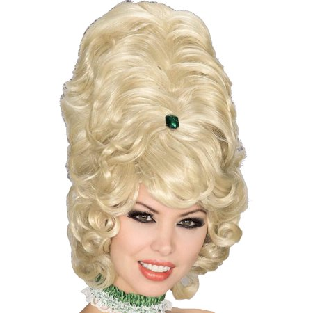 Beehive Wig  Blonde Halloween Accessory - Photo Bebe Halloween