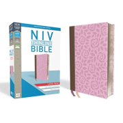 NIV, Thinline Bible, Large Print, Imitation Leather, Pink, Red Letter Edition (Other)(Large Print)