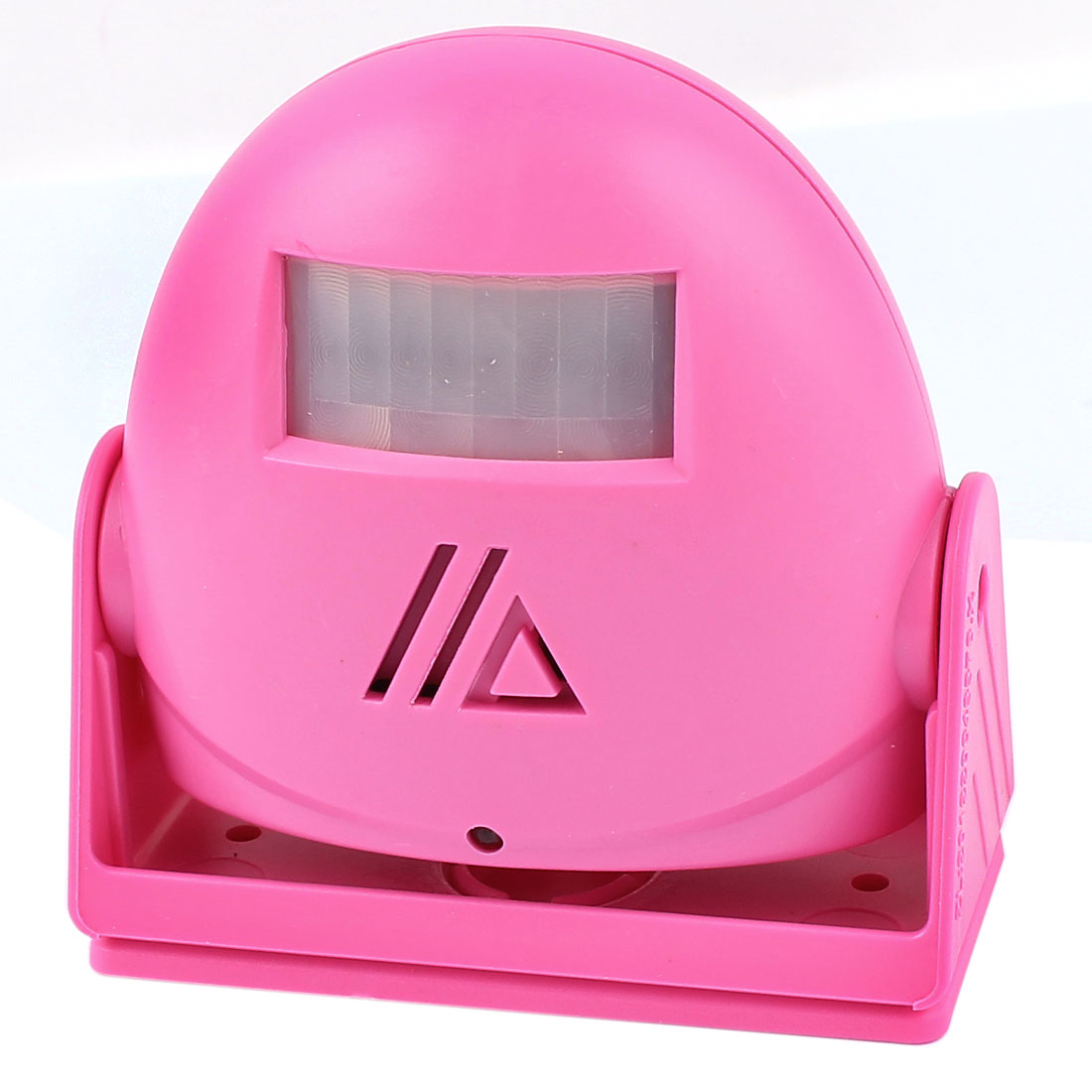 Unique Bargains Rotary Head  Sensor Music Greeting Warning Welcome Doorbell Pink