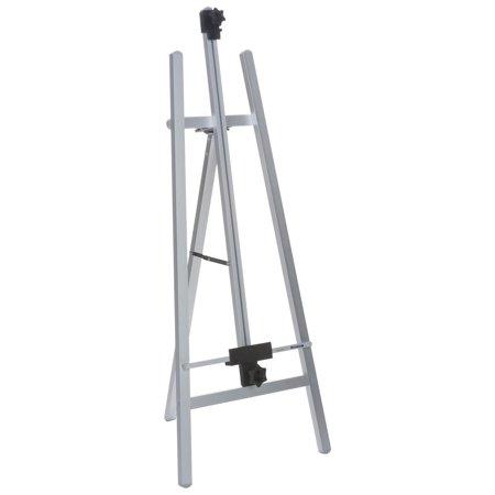 Folding Display Easel, Adjustable Top and Bottom Bar, Floor Standing, 55 (Freestanding Easel)