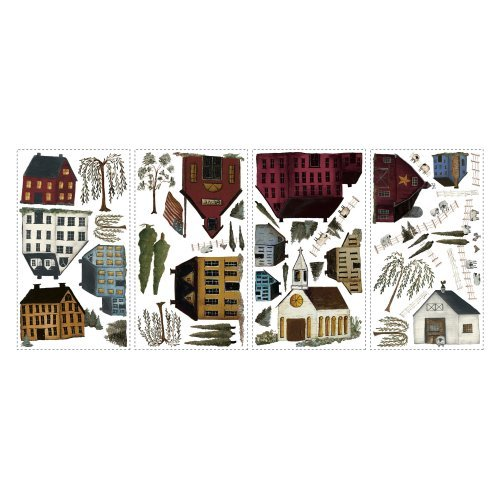 Country Scenic Peel and Stick Wall Decals