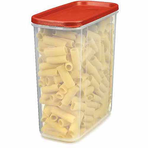 Rubbermaid Modular Canisters 21 Cup, Red