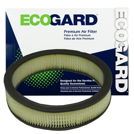 ECOGARD XA3149 Premium Engine Air Filter Fits Chevrolet C10, G10, K10, P30, C20, G30, Chevette, Camaro K5 Blazer; GMC C2500, K1500, C1500, G1500; Pontiac (Chevrolet G30 Air)