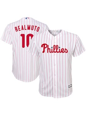 JT Realmuto Philadelphia Phillies Youth Home Replica Player Jersey - White/Scarlet