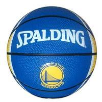 Spalding NBA 7 Inch Mini Basketball, Golden State Warriors