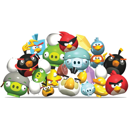 Angry Birds Mystery Action Figures, 5-Pack