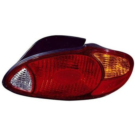 Go-Parts » 1999 - 2000 Hyundai Elantra Rear Tail Light Lamp Assembly / Lens / Cover - Right (Passenger) Side - (4 Door; Sedan) 92402-29550 HY2801124 Replacement For Hyundai Elantra