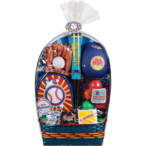 Easter basket with baseball toys and assorted candy 8 pc easter basket with baseball toys and assorted candy 8 pc negle Choice Image