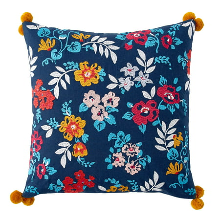 - The Pioneer Woman Ditsy Floral Decorative Throw Pillow, 16