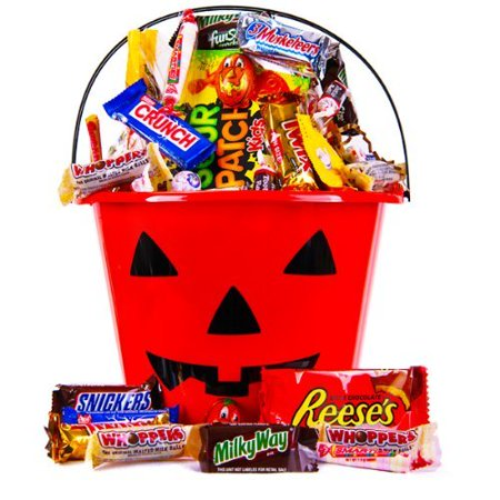 Childrens Halloween Gift Baskets (Halloween Goodies Candy Gift)
