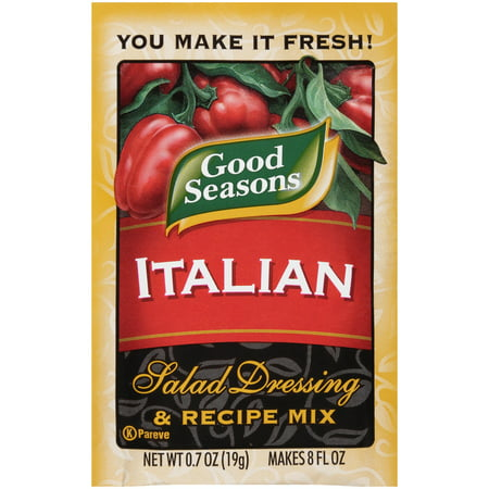 Good Seasons Dressing   Recipe Mix Balsamic  0 7 Oz