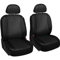 Oxgord Faux Leather Bucket Seat Cover Set For Car Truck Van SUV
