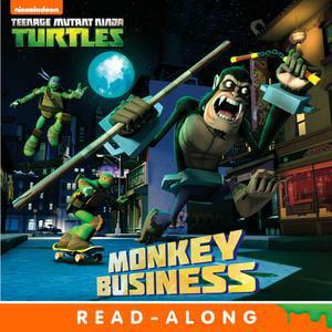 Monkey Business (Teenage Mutant Ninja Turtles) - eBook](Ninja Monkey Bones)