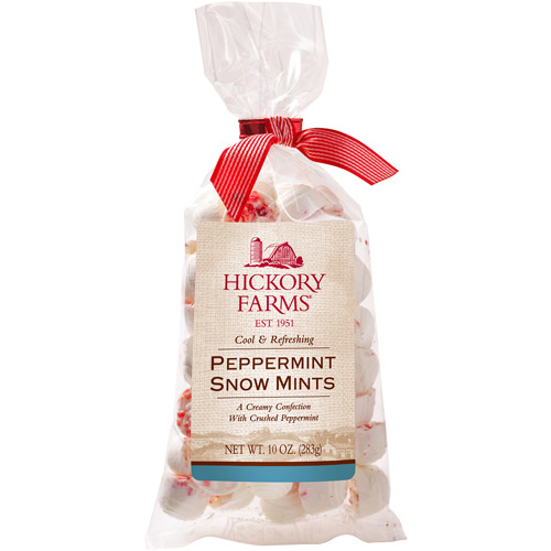 Hickory Farms Peppermint Snow Mints Gift, 10 oz