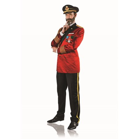 Captain Obvious Mens Costume - Red Costumes For Men