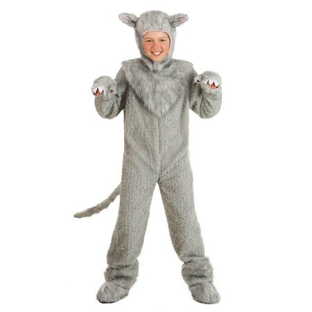Kids Wolf Costume](Bad Wolf Costume)