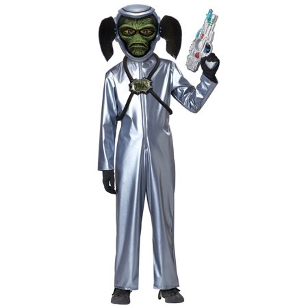 First Contact Alien Jumpsuit Costume Child - Child Alien Costume