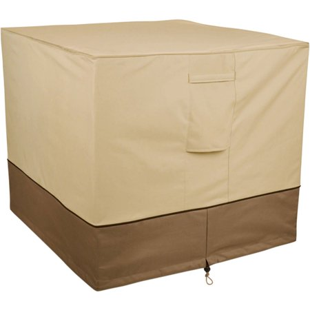 "Classic Accessories Veranda Square Patio Air Conditioner Storage Cover, fits up to 34""L x 34""W"