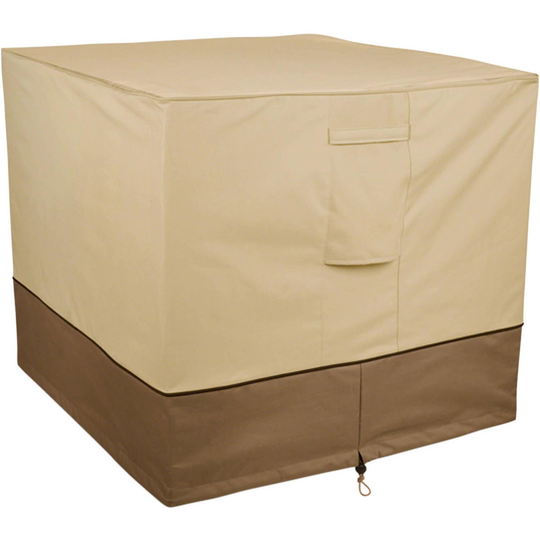 "Classic Accessories Veranda Square Patio Air Conditioner Storage Cover, fits up to 34""L x 34""W"