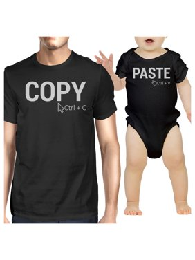 Copy And Paste Dad and Baby Matching Outfits For Family Photo Shoot