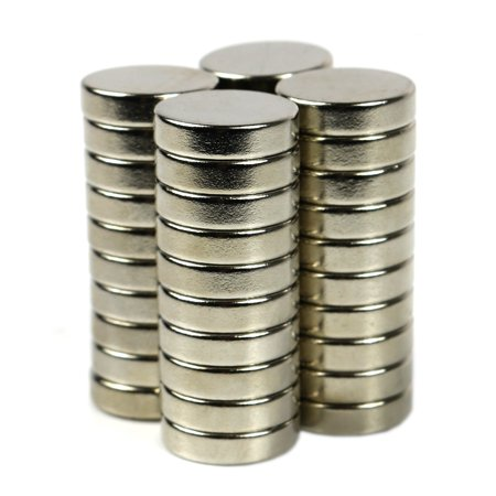 Pack of 50, Rare Earth Magnets Strong Disc Neodymium Permanent Magnets 6mm x 2mm, Grade N35