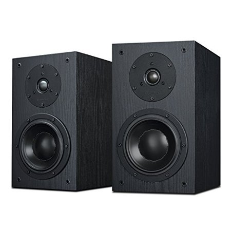 Swan Speakers - DIY 2.2A - 2.2 Bookshelf Speakers - Near-Field Speakers - Compact Solid Wood Bookshelf Cabinet - DIY Speaker Kit - Pair - Black Swan Speakers - DIY 2.2A - 2.2 Bookshelf Speakers - Near-Field Speakers - Compact Solid Wood Bookshelf Cabinet - DIY Speaker Kit - Pair - Black