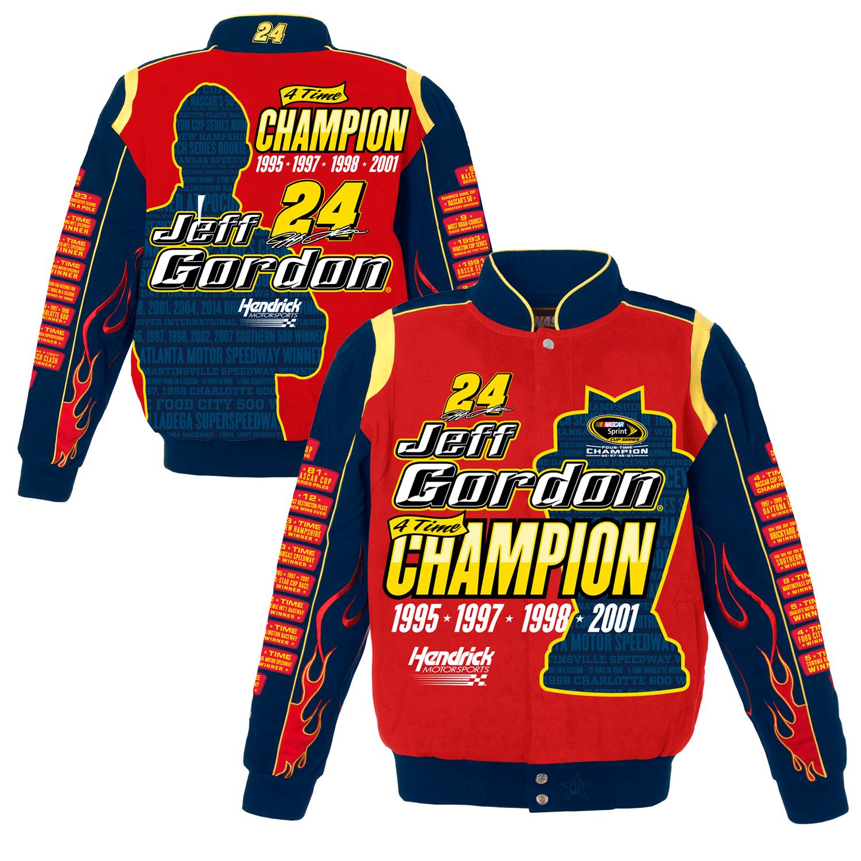 Jeff Gordon JH Design Tribute Jacket - Red