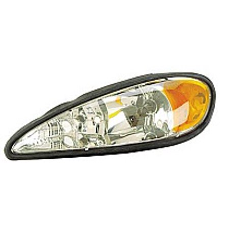 Go-Parts » 1999 - 2005 Pontiac Grand Am Front Headlight Headlamp Assembly Front Housing / Lens / Cover - Left (Driver) 22672207 GM2502196 Replacement For Pontiac Grand (1999 Pontiac Grand Am Head Gasket Replacement)