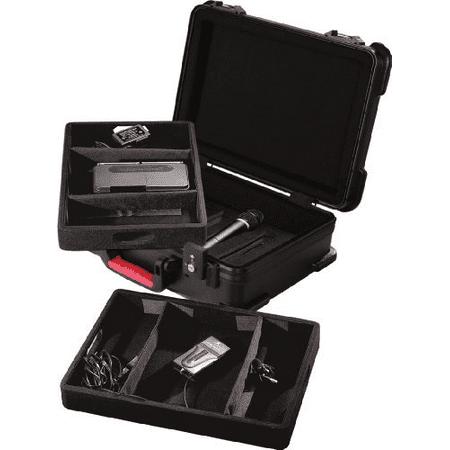 ATA Molded Case for 7 Wireless Mics; TSA Latches