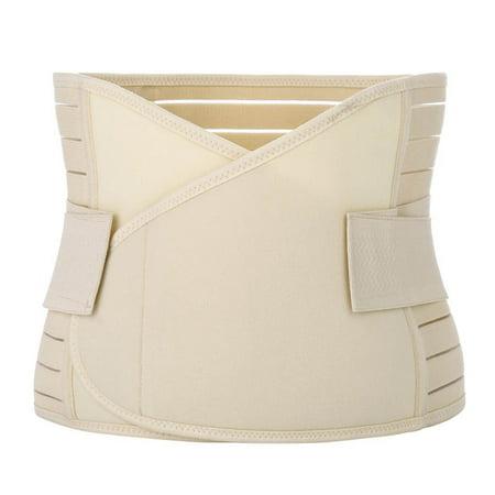 Postpartum Recovery Belly Band Abdominal Wrap Waist Belt Breathable Moulding Women Bandage (Belly Dancer Belt)