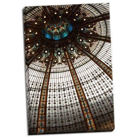 Astoria Grand 'Galeries Lafayette I' Photographic Print on Wrapped (Lafayette Wrap)