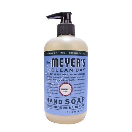 Mrs. Meyer's Clean Day Liquid Hand Soap, Bluebell, 12.5 Fl Oz