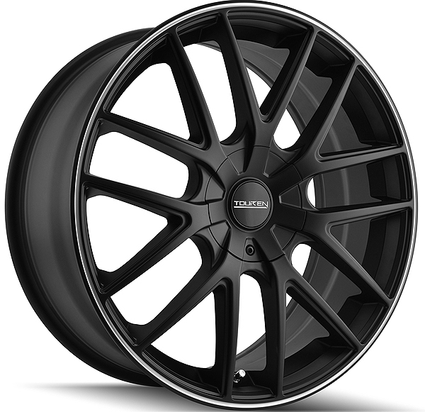 "18"" Inch Touren TR60 18x8 5x108/5x114.3(5x4.5"") +40mm Matte Black Wheel Rim"