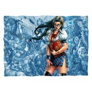 Zenescope Grimmoire (Front Back Print) Poly 20X28 Pillow Case White One Size