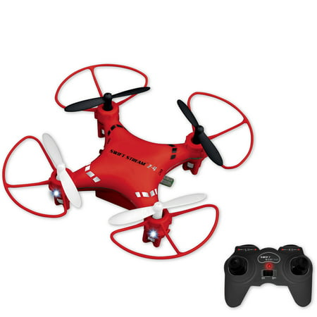 Buy Swift Stream Z-4 Remote Control 3″ Mini Drone, Red Before Special Offer Ends
