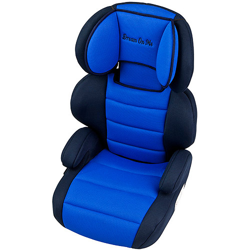 Dream On Me Deluxe Booster Car Seat in Blue