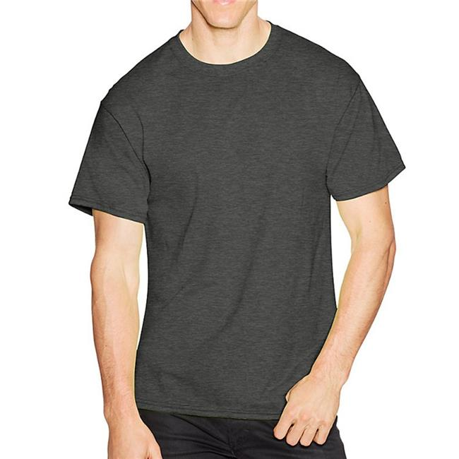 Hanes 738994474773 Mens ComfortBlend EcoSmart Crew Sweatshirt, Charcoal Heather - Small - image 1 of 1