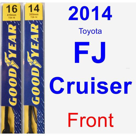 2014 Toyota FJ Cruiser Wiper Blade Set/Kit (Front) (2 Blades) -