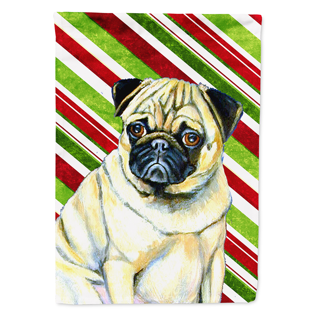 Carolines Treasures Pug Candy Cane Holiday Christmas Night Light 6 x 4 Multicolor