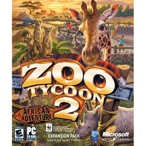 Zoo Tycoon 2 African Adventure Expansion PC