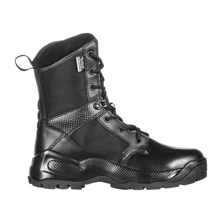5.11 Tactical Women's A.T.A.C. 2.0 8-Inch Storm Boots, Ortholite, Slip-Resistant Outsole, Style 12406, Black, 5 Regular thumbnail