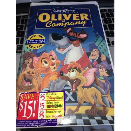 Disney Vhs Tapes (Oliver & Company VHS Walt Disney )