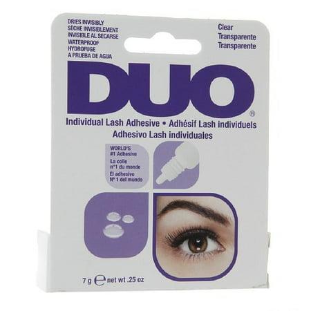 2291156604e Duo Individual Lash Adhesive, Clear, 0.25 Oz - Walmart.com