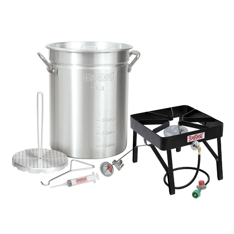 Bayou Classic Outdoor Turkey Fryer Kit - 30 qt.