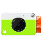 Kodak PRINTOMATIC Digital Instant Print Camera (Green), Full Color Prints On Zink 2x3 Sticky-Backed Photo Paper - Print Memories Instantly